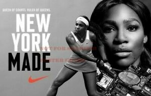 details about serena williams nike vintage poster advertising promo reprint 24 by 36 inch 1