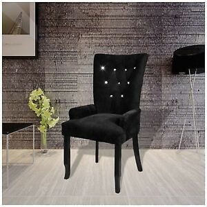 high back grey velvet dining chairs painted wooden kitchen luxury chair tufted black accent armchair vintage home