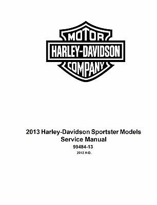 2013 Harley Sportster Models Service & Electrical