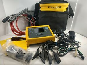 Fluke 1735 POWER LOGGER Three Phase Analyst Analyzer PRE-OWNED. Cables. Manual 686068140225 | eBay