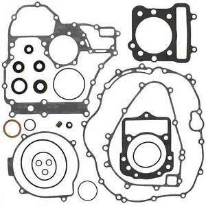 Complete Gasket Kit with Oil Seals for Kawasaki KLF300C