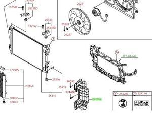 KIA OEM 17-18 Forte 2.0L-L4 Radiator-Air Guide Left