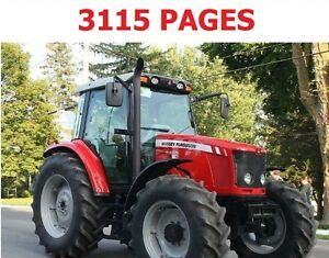 Massey Ferguson Repair Manual Ebay