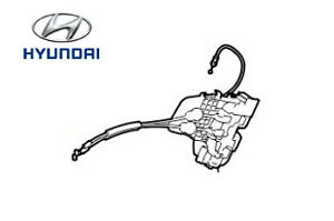 Genuine Hyundai i30 Rear Door Latch RH Drivers Side