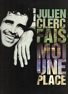 Parole Fais Moi Une Place : parole, place, JULIEN, CLERC, PARTITION, Paroles,, Piano,, Photos,