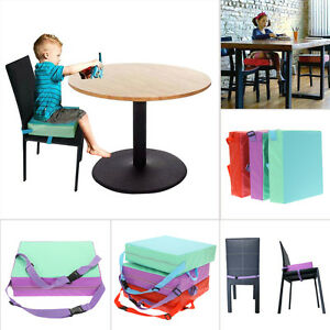 toddler chair booster seat cheap wingback portable baby kids feeding high pad image is loading