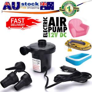 Image Is Loading Air Pump Electric Inflator Deflator 12v Volt Dc