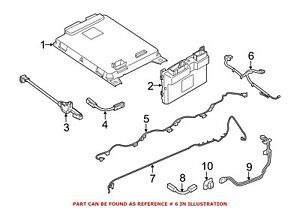 For BMW Genuine Drive Motor Battery Pack Control Module