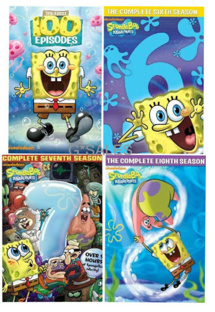 All 12 Seasons Of Spongebob On Dvd : seasons, spongebob, Spongebob, Squarepants, Series, Complete, Season, Online