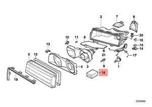 Genuine BMW 7 Series E38 Repair Kit Headlight OEM