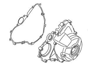 YAMAHA STATOR COVER AND GASKET FZ09 FJ09 XSR900 1RC-15411