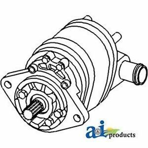 70249437 Hydraulic Pump Triple Stage Fits Allis Chalmers