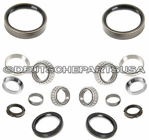 MERCEDES W115 W123 W116 W126 REAR WHEEL BEARING KIT 2 x