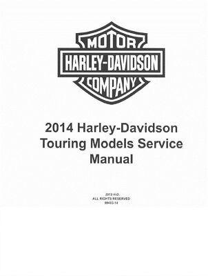 2014 Harley Davidson Road King FLHR FLHRC Service Manual