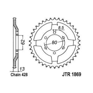 JT 428 45T Rear Sprocket for Yamaha 1992-07 XT225 Serow