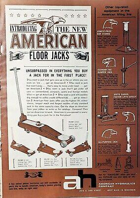 Vintage Floor Jack : vintage, floor, Vintage, Hydraulic, Floor, Print, Owatonna, Watco