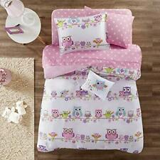 mizone mzk10 085 kids wise wendy complete bed and sheet set twin pink
