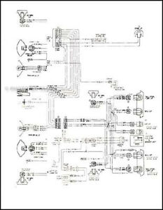 1978 Chevy Monza Foldout Wiring Diagram Electrical