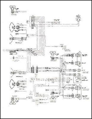 1978 Chevy Monza Foldout Wiring Diagram Electrical