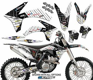 2011 2012 XC XC-F XCF 150 250 300 350 GRAPHICS KIT FITS