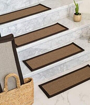 Natural Area Rugs Brown Margot Pet Friendly Sisal Carpet Stair | Sisal Carpet Stair Treads | Area Rugs | Fiber Sisal | Natural Fiber | Etsy | Oak Valley