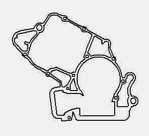 KTM 97-16 125 200 144 150 ENGINE CASE GASKET 50330039000