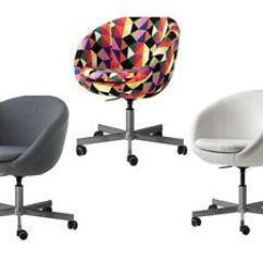 Skruvsta Swivel Chair Ikea Nils Various Colours Home Office Living Ebay Image Is Loading