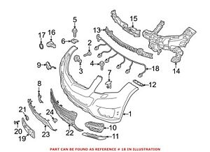 For Mercedes Genuine Headlight Wiring Harness 2044405950