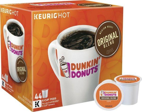 44 Count Dunkin Donuts KCups Original Blend fresh
