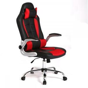 computer chairs for gaming best bean bag chair high back racing office recliner desk