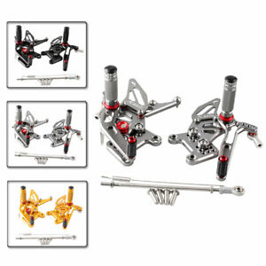 Rear Sets Rearsets Footrest Foot Rest Pegs For Triumph