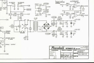 Randall Instruments RSA-500-115 Steel Man Guitar Amp