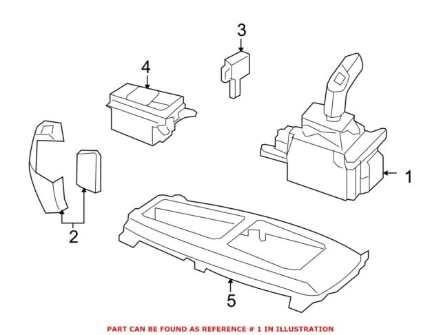 For BMW Genuine Automatic Transmission Shift Lever