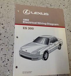 1992 lexus es 300 electrical wiring diagram manual original es300 oem shop ebay [ 1600 x 1195 Pixel ]
