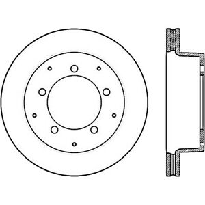 Disc Brake Rotor-Premium Disc-Preferred Front/Rear Centric