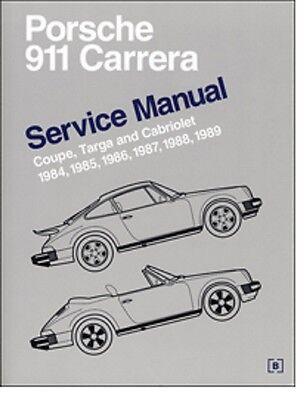 1984 1985 1986 1987 1988 1989 Porsche 911 Carrera Service