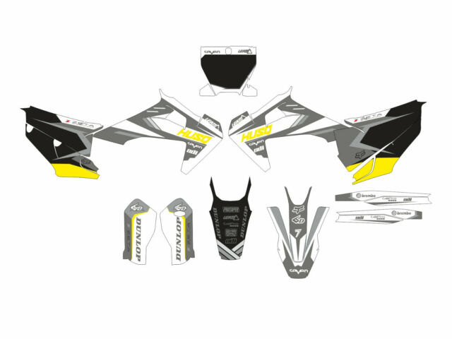 Motard graphic kit for Husqvarna TC FC 125 250 300 350 450