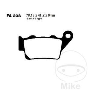 EBC R ATV & Dirt Rear Brake Pads FA208R Husqvarna TE 610 E