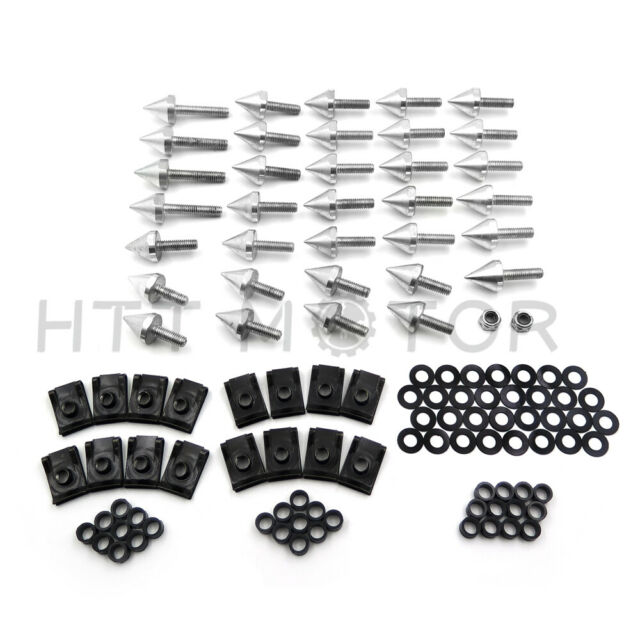 Aluminum Motorcycle Fairing Bolts Kit Screw For 2004-2006