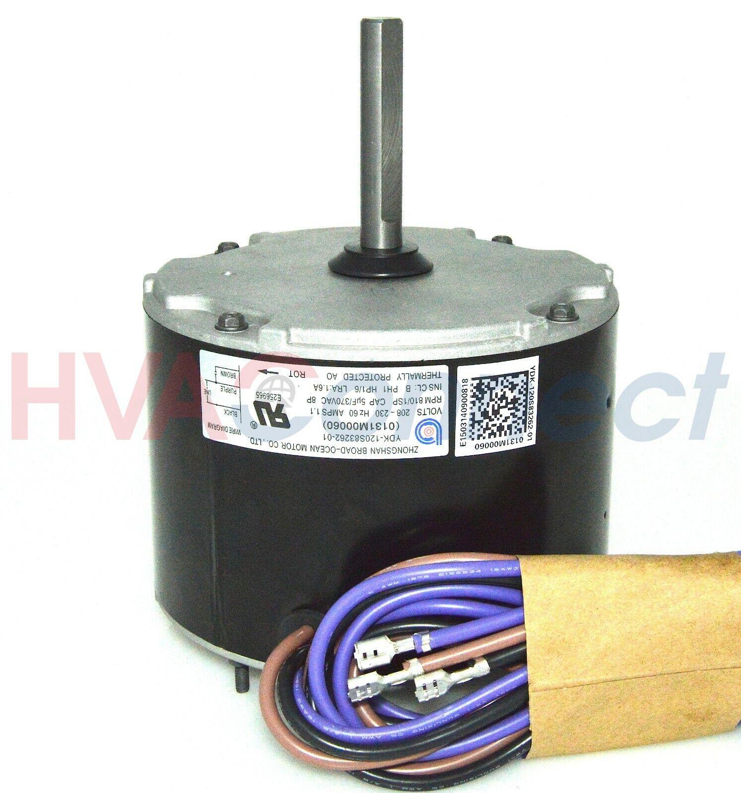 hight resolution of goodman janitrol fan motor 1 6 0131m0060s 0131m00060 for sale online fan motor in addition goodman 5 ton condenser also heil furnace wiring