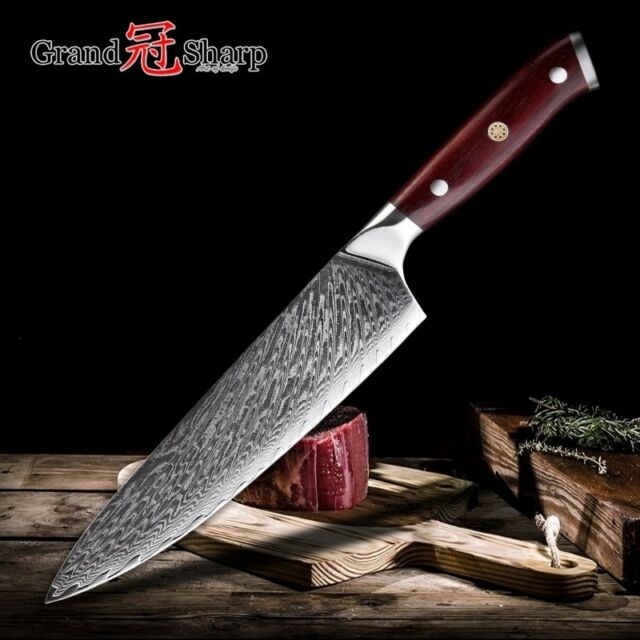 professional kitchen knives rubber flooring chef knife 67 layer vg10 japanese damascus steel