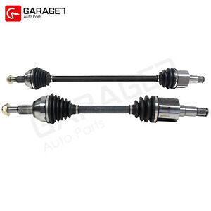 Pair CV Axle Joint Front For Chrysler Town Country Dodge
