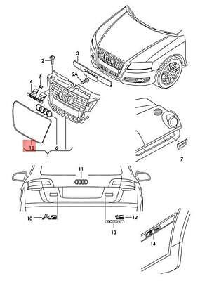 Genuine AUDI A3 Cabriolet S3 Sportback Lim. quattro. frame