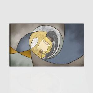 Design211 quadro capezzale su tela moderno famiglia non sacro. Quadro Capezzale Camera Da Letto Dipinto A Mano Sacra Famiglia Quadri Moderni Ebay