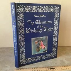 Wishing Chair Photo Frame Electric Death Enid Blyton Adventures Of The Large Hardcover