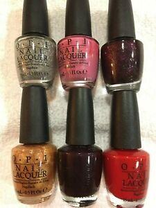 Opi Nail Polish Discontinued Colors : polish, discontinued, colors, Holiday, Lacquer, Discontinued, Colors