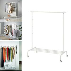 ikea rigga clothes rack hanging steel
