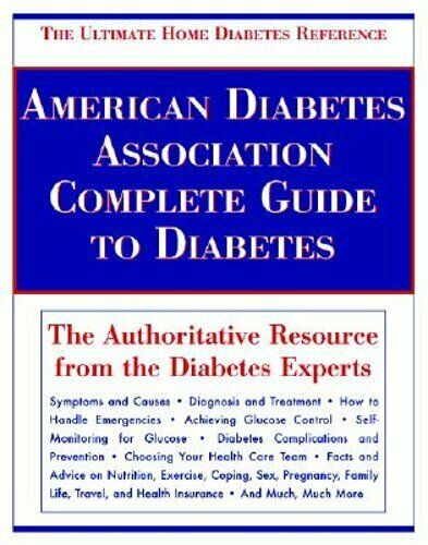 American Diabetes Association Complete Guide to Diabetes ...