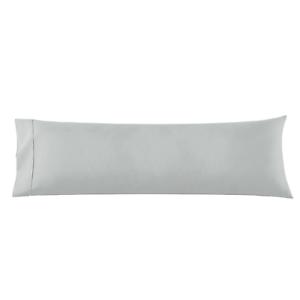 details about body pillowcase 1 microfiber pillowcase body pillow size 20x54 silver gray