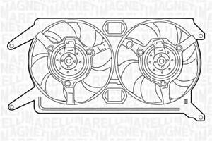Radiator Fan Fits ALFA ROMEO 147 156 Gt 937 932 Coupe